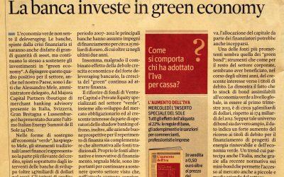 Green economy – Il Sole 24Ore